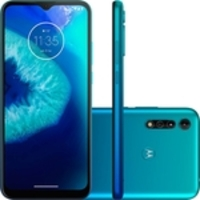 "Smartphone Motorola Moto G8 Power Lite 64GB Dual Chip Android Tela 6.5"" Helio P35 4G Câmera 16MP+ 2MP+ 2MP  XT2055-2 Aqua Azul"