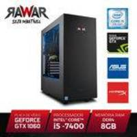 PC Gamer Rawar RW254PAZ INTEL I5 7400 8GB (Geforce GTX1060 de 6GB) 1TB