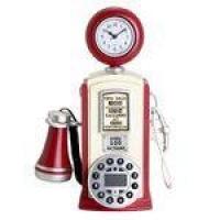 Telefone Retro de Mesa Bomba de Gasolina