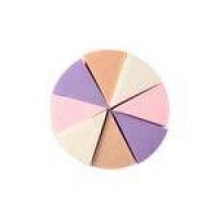 Esponja De Maquiagem Triangular Com 8 Unidades Macrilan