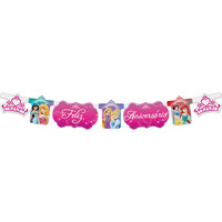 Faixa Feliz Aniversário Regina Festas Princesas 1 Unidade