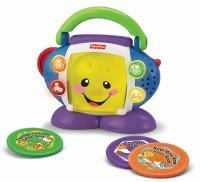 CD Player Aprender e Brincar Fisher-Price Mattel