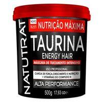 Máscara De Tratamento Intensivo Skafe Natutrat Taurina Energy Hair 500g