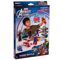 Playset para Montar Blueprints Avengers 30 Peças