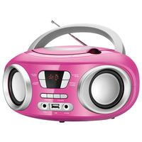CD Player Portátil Mondial BX-15 Rosa