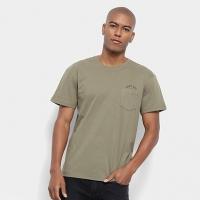 Camiseta Reserva Estonada Gente Boa Bolso Masculina - Masculino