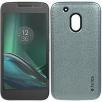 Capa + Película De Vidro - Motorola Moto G4 Play - Casual - Prata