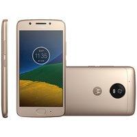 Smartphone Motorola Moto G5 XT1672 Desbloqueado GSM Dual Chip 32GB Android 7.0 Nougat Dourado