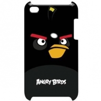 Capa Protetora Angry Birds Black Ipod Touch