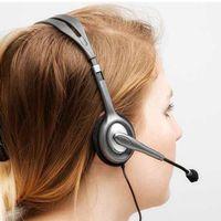 Headset Logitech P2 3.5mm H111 Cinza