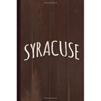 Cute Syracuse Journal Notebook: Blank Lined Ruled For Writing 6x9 120 Pages