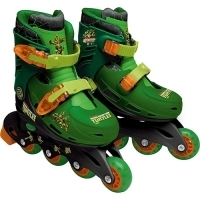 Patins DTC Tartarugas Ninjas Teenage Mutant 33 ao 36''