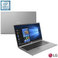 """Notebook LG Gram 14Z980-G.BH51P1 Intel Core i5-8250U 8GB 256GB 1.6GHz 14"""" Windows 10 Home 64 Titânio"""