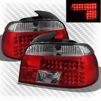 Lanterna Sonar Altezza Leds Bmw S5 E39 528i 540i M5 95 00 Vermelha  o par
