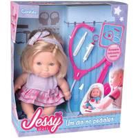 Boneca Betsy Doll Candide Um dia no Pediatra Lilás