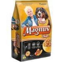 Ração Magnus Chips Para Cães Adultos - 25 Kg