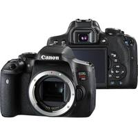 Câmera Digital Canon EOS T6i 24.2MP Preta Corpo