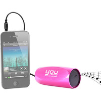 MP3 Player para Bicicleta You Sound Rádio FM Rosa