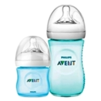 Kit 02 Pcs Mamadeira Petala 125ml E 260ml Philips Avent Azul