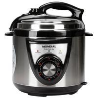 Panela de Pressão Elétrica Mondial PE27 Pratic Cook 4 Litros Inox 110V