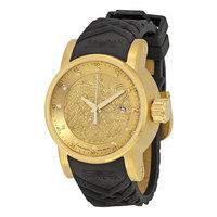 Relógio Invicta S1 Hally Yakuza 15863 Dourado Preto