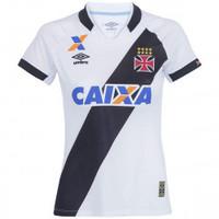 Camisa Umbro do Vasco da Gama II 2015 Branco E Preto  3bc2d05df68dc