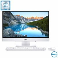 Computador All in One Dell iOne-3477-A40 Intel Core i7 7500U 12GB 1TB 2,7GHz 23,8 Windows 10 Branco
