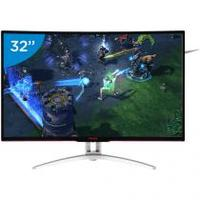 Monitor Gamer AOC LCD Curvo 31,5 IPS Full HD - Widescreen Agon