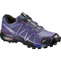 Tênis Feminino Speedcross 4 CS 383094 Azul/Roxo - Salomon - 36