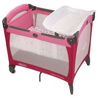 Berço Infantil Graco Contour On The Go Sweet Princess G20102