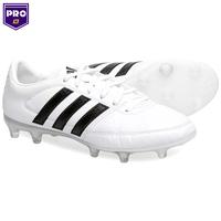 Chuteira Adidas Gloro 16.1 FG Campo Masculino Branca e Preta 39df0364670e8