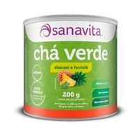 Chá Verde - 200 Gramas - Sanavita Abacaxi e Hortelã