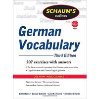 Schaum´s outline of german vocabulary