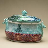 Sopeira Soul Home Folklore em Cerâmica