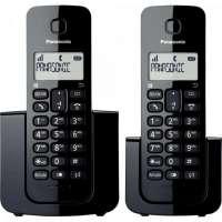 Telefone Panasonic KX-TGB110LBB sem Fio Preto + Ramal
