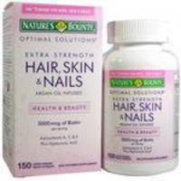 Hair Skin And Nails Nature's Bounty 150 Capsulas Importado