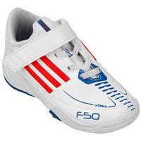 0f70ed1eac Tênis Adidas F50 adiZero CF Infantil Branco e Azul
