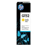 Refil De Tinta Hp Gt52 Amarelo Para Multifuncional 5822