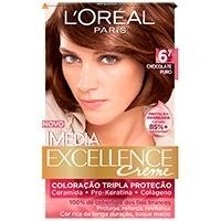 Imedia Coloracao Permanente Chocolate Puro 6.7 De 47g