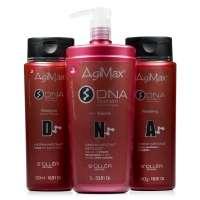 Agi Max Kit Dna Shampoo De Limpeza Anti volume E Bálsamo Finish