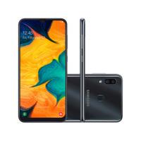 Smartphone Samsung Galaxy A30 SM-A305GT/6DL Desbloqueado 64GB Dual Chip Android 9.0 Preto