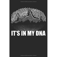 Es Ist in Meiner DNA: Notizbuch / Notizheft Für Wandern Berg-Wandern Bergsteigen Outdoor Camping Trekking A5 (6x9in) Dotted Punktraster