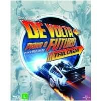 Blu-Ray - Trilogia De Volta Para o Futuro Edição 2015