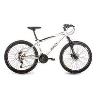 Bicicleta Fire Aro 26 Branco 21 marchas Mazza Bikes MZZ-100