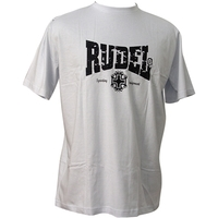 Camiseta Rudel Básica Brazilian Jiu Jitsu Branca