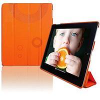 Case para iPad 2 Youts iSmart Couro Laranja