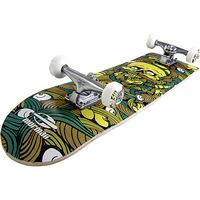 Skateboard Chill Mormaii Amarelo Verde e Marrom