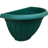 Vaso West Garden Denise Parede com Prato Verde 30cm