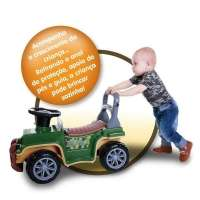 Carrinho Infantil de Passeio Jip Jip Militar 2059 Maral
