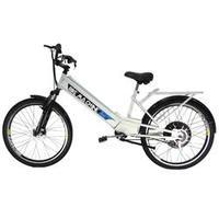 Bicicleta Elétrica Machine Motors 800W 48V Branca